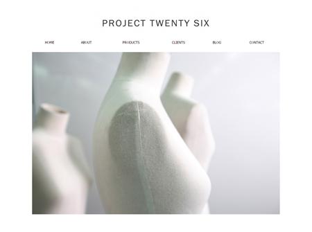 ออกแบบและจัดทำเว็บไซต์ บริษัท Project Twenty Six จำกัด (P26)